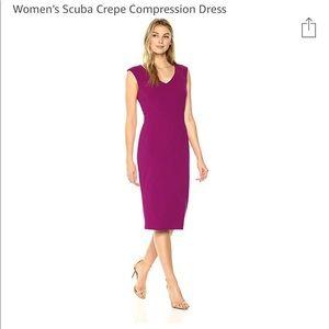 Ivanka Trump scuba compressor crepe dress 10